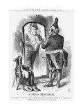 A Dress Rehearsal, 1868 Giclee Print by John Tenniel