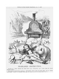 Pigheaded Obstruction, 1877 Giclée-Druck von Joseph Swain