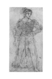Costume Study, 1954 Giclee Print by  Leonardo da Vinci