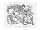 The Yankee Fireman Keeps His Word, 1866 Giclee Print by John Tenniel