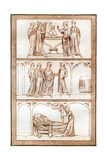 The Life of Thomas Becket Giclee Print by Joseph Strutt