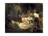 The Fountain of Bahçesaray, 1849 Giclee Print by Karl Briullov
