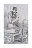Potter at Work, Cries of London, C1819 Giclee Print by John Thomas Smith