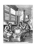 Clasp-Maker, 16th Century Giclee Print by Jost Amman