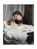 Mother's Darling, 1884 Giclee Print by Joseph Clark