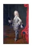 Louis I, Prince of the Asturias, King of Spain, 1717 Giclee Print by Michel-ange Houasse