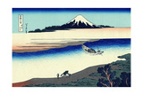 Tama River in Musashi Province' (From a Series 36 Views of Mount Fuj), 1830-1833 Giclee Print by Katsushika Hokusai