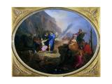Noah's Sacrifice, C1688-1736 Giclee Print by Nicolas Bertin