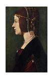 Beatrice D'Este (1475-149), C1490 Giclee Print by  Leonardo da Vinci