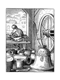 Bell and Cannon Caster, 16th Century Giclee Print by Jost Amman