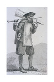 A Tankard Bearer' C1680, Cries of London, (C1819) Giclee Print by John Thomas Smith