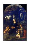 Madonna of the Rocks, 1482-1486 Giclee Print by  Leonardo da Vinci