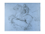 Study for the Sforza Monument, C1488-1493 Giclee Print by  Leonardo da Vinci