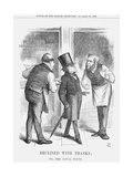Declined with Thanks; or the Rival Touts, 1867 Giclee Print by John Tenniel