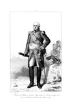 Joseph Hyacinthe (1734-182), Marquis De Viomenil and Marshal of France, 1839 Giclee Print by Julien Leopold Boilly