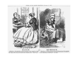 Medium and Re-Medium, 1864 Giclee Print by John Tenniel