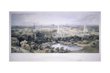 Crystal Palace, Sydenham, London, 1854 Giclee Print by Jonathan Needham