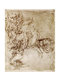 Pen and Ink Sketches, 1913 Giclee Print by  Leonardo da Vinci