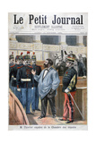 Christophe Thivrier Expelled from the Chamber of Deputies, Paris, 1894 Giclee Print by Jose Belon