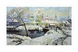 Small Village Torzhok, 1917 Giclee Print by Konstantin Ivanovich Gorbatov