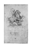 Study for the Trivulzio Monument, C1508 Giclee Print by  Leonardo da Vinci