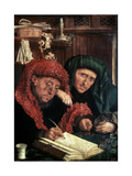 The Tax Collectors, Between 1490 and 1567 Giclee Print by Marinus Van Reymerswaele