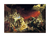 The Last Day of Pompeii, 1833 Giclee Print by Karl Briullov