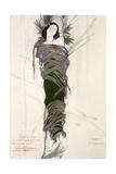 Costume Design for the The Ballet Dancer Ida Rubinstein, 1911 Giclee Print by Leon Bakst