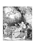 The Reviewer's Cave, 1765 Giclee Print by  Mortimer