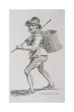 Prison Basket Man, C1680, Cries of London, (C1819) Giclee Print by John Thomas Smith