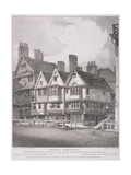 Hosier Lane, London, 1811 Giclee Print by John Thomas Smith