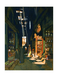 Perfume Merchant, 1928 Giclee Print by Louis Cabanes