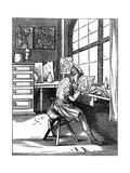 Illuminator, 16th Century Giclee Print by Jost Amman