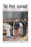 The French Minister for War Giving a Military Decoration, 1894 Giclee Print by Jose Belon