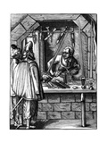 Sword Maker, 16th Century Giclee Print by Jost Amman