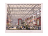 Great Exhibition, Crystal Palace, Hyde Park, London, 1851 Giclee Print by Joseph Nash