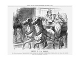 Beef À La Mode, 1867 Giclee Print by John Tenniel