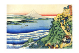 From the Series Hundred Poems by One Hundred Poets: Yamabe No Akahito, C1830 Giclee Print by Katsushika Hokusai