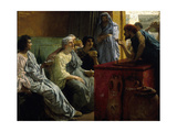 The Wine Shop, 1869-1874 Giclee Print by Lawrence Alma-Tadema