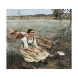 The Haymakers, 1880 Giclee Print by Jules Bastien-Lepage