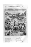 Pelops and Hippodamia, 1615 Giclee Print by Leonard Gaultier