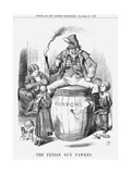 The Fenian Guy Fawkes, 1867 Giclee Print by John Tenniel