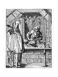 Sword Maker, C1559-1591 Giclee Print by Jost Amman