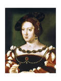 Portrait of Eleanor, Queen of France, C1530-1540 Giclee Print by Joos Van Cleve