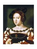 Portrait of Eleanor, Queen of France, C1530-1540 Giclee Print by Joos Van Cleve