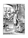 Tailor, 16th Century Giclee Print by Jost Amman