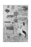 Study for the Casting of the Sforza Monument, C1493 Giclee Print by  Leonardo da Vinci