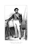 Guy-Victor Duperre (1775-184), French Admiral, 1839 Giclee Print by Julien Leopold Boilly