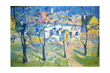 Spring - Blossoming Garden, 1904 Giclee Print by Kazimir Malevich