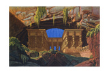 The Temple of Isis and Osiris Where Sarastro Was High Priest, C1816 Giclee Print by Karl Friedrich Schinkel